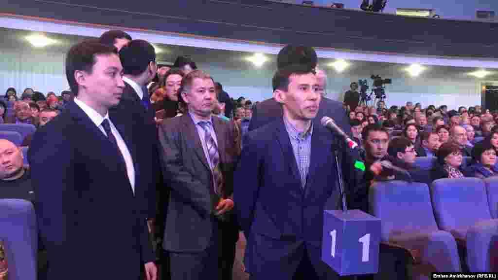 Астана қаласы әкімінің тұрғындар алдында есеп беруі