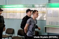 Дзьмітрыя Кульжыка вядуць у суд
