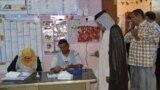 احد مراكز الاقتراع في الناصرية(من الارشيف)