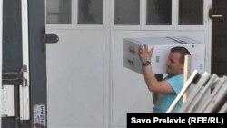 Policijska zapljena švercovanih cigareta, Podgorica (27. mart 2017.)