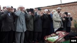 Чеченские похороны. Архивное фото