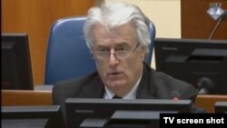 Karadžić u sudnici