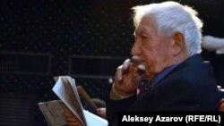 Ілияс Жансүгіров пен Фатима Ғабитованың баласы Саят Жансүгіров. Алматы, 17 қазан 2016 жыл.