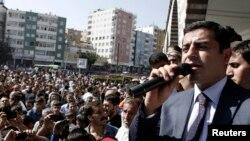 Diyarbəkirdə HDP-nin mitinqi - 2014