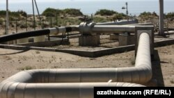 Газопровод у Каспийского моря, Туркменистан