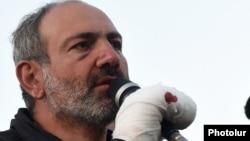 Арменияның премьер-министр міндетін атқарушы Никол Пашинян