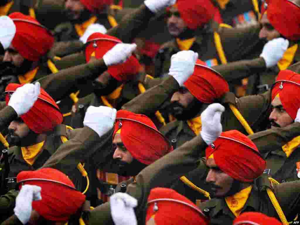 Індыя: сьвяткаваньне Дня рэспублікі
