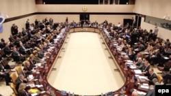 ნატოს თავდაცვის მინისტრების შეხვედრა ალიანსის შტაბბინაში