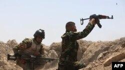 Ushtarët irakianë në Ramadi, foto nga arkivi