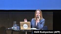 Gazetarja socialiste dhe opozitare ruse, Ksenia Sobchak.