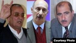 İ.Həmidov, Z.Əlizadə və P.Hüseyn