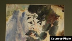 "Картина художника Анатолия Зверева ""Автопортрет 1959 года"""