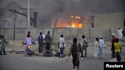 Најмалку шест луѓе загинаа во напад врз полициска станица во градот Кано во северна Нигерија извршен од Боко Харам на 20 јануари 2012.