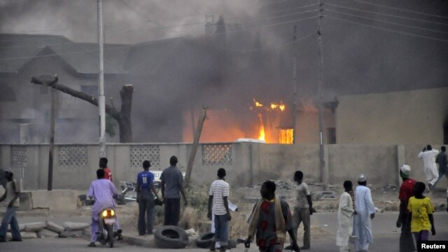 Boko Haram has been blamed for a number of fatal attacks in Nigeria. (file photo)