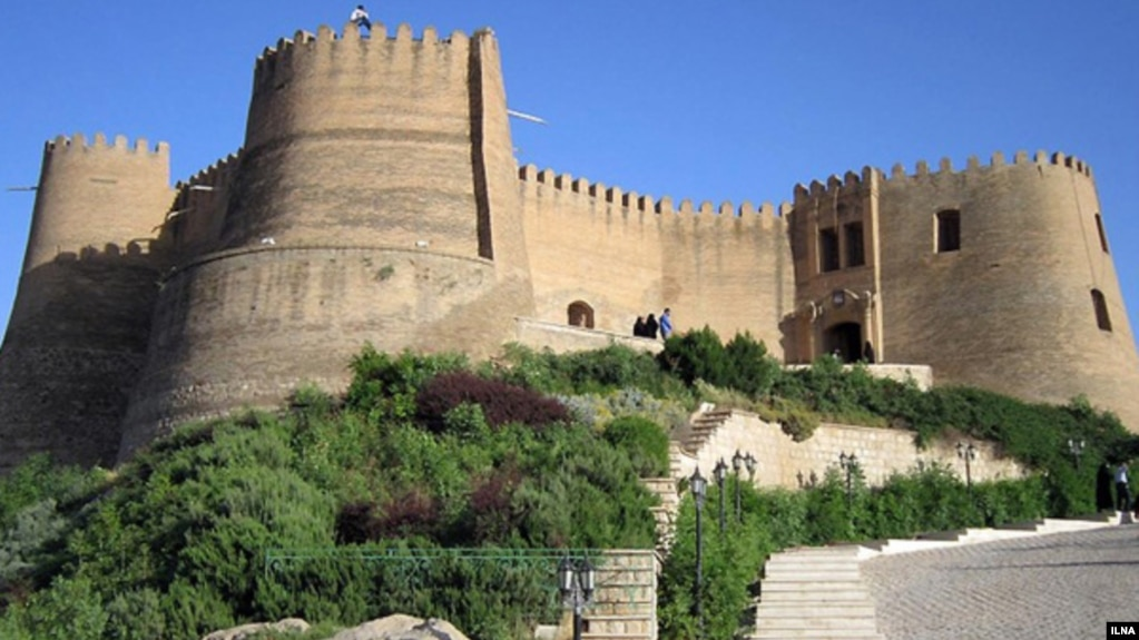 Falak ol-Aflak Castle in Khorramabd, Lorestan Province, Iran. File photo