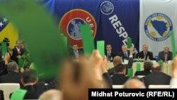 Glasanje za osnivanje Komiteta za normalizaciju, 2011.