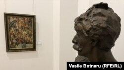 """La expoziția """"Auguste Baillayre și contemporanii"""", Muzeul Național de Artă al Moldovei"""