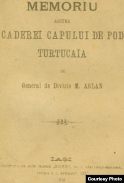 M. Aslan, Căderea capului de pod Turtucaia, 1918 (Sursa: http://www.marelerazboi.ro/razboi-catalog-obiecte/item/memoriu-de-razboi)