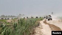 Iračke snage i šiitske milicije u blizini Faludže, 31. maja 2016.