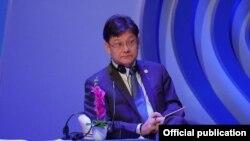 შიქსინ ჩენი, აზიის განვითარების ბანკის ვიცე-პრეზიდენტი