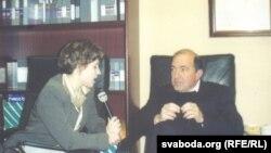 Галіна Прыгара і Барыс Беразоўскі, Нью-Ёрк, 2000 г.