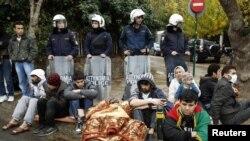 Ирански бегалци во Грција