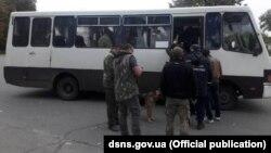 Евакуація людей біля селища Дружба в Ічнянському районі, Чернігівської області, 9 жовтня 2018 року