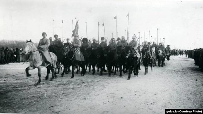 Красноармейцы в Сибири. Фото времен Гражданской войны