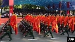 Вьетнам пойтахти Хошиминдаги Ғалаба паради.