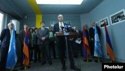 «Կոնգրես-ՀԺԿ» դաշինքը սկսում է խորհրդարանական ընտրությունների քարոզարշավը, Երևան, 5-ը մարտի, 2017թ․