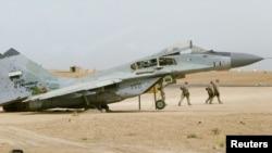 پایگاه نظامی «تَقَدُم» در غرب بغداد در استان انبار