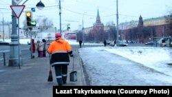 Мигрант. Москва