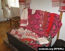 Экспанаты Палескага краязнаўчага музэю ў Пінску