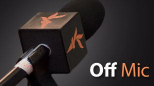 The Off Mic Blog