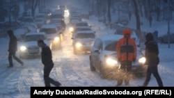 Сніг у Києві, 22 березня 2013 року