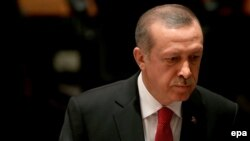 Presidenti i Turqisë, Recep Tayyip Erdogan.