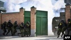 Антитеррористические учения в Чечне, фото из архива