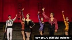 Артисты фестиваля оперы и балета «Херсонес» в Севастополе, июль 2020 года