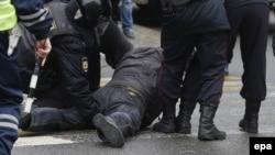 Задержание на акции 26 марта в Москве