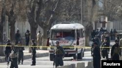 Взрыв в Кабуле. 1.2.2016