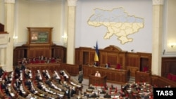 Ukraine, session of Verkhovna Rada, archive foto from Sep. 25, 2005