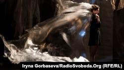 Кінетична постановка «Але вітер…» в БК Металургів