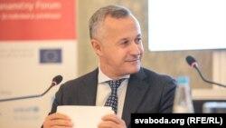 Васіль Мацюшэўскі на Кастрычніцкім эканамічным форуме
