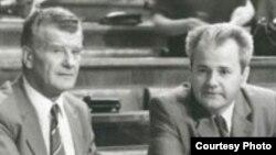 Ivan Stambolić i Slobodan Milošević, juni 1987.