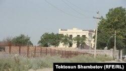Дом, который, как предполагается, строит президент Кыргызстана Алмазбек Атамбаев.