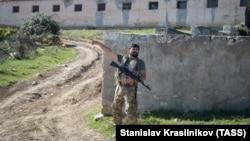 Зона конфликта в Нагорном Карабахе