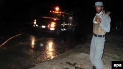 Афғон полициячиси.
