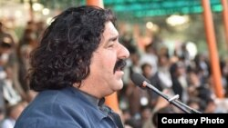 Pashtun-rights leader Ali Wazir (file photo)