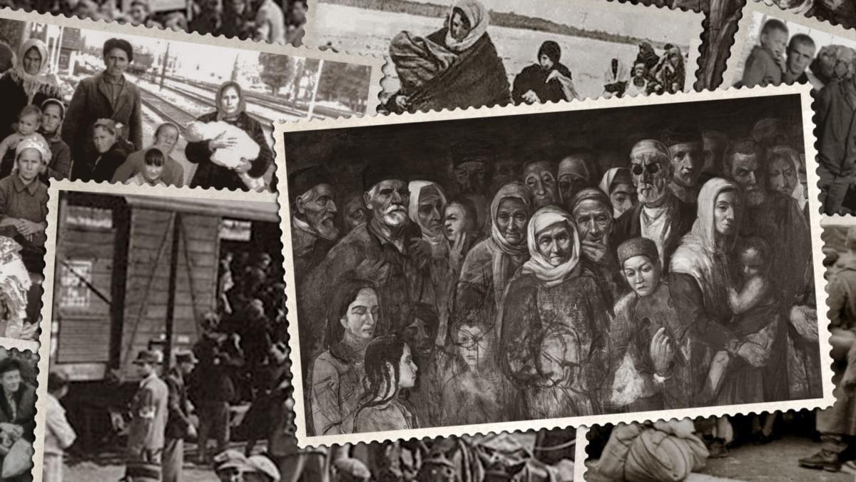 Депортация крымских татар. Перед этим провели «зачистку» от «внутренних врагов»
