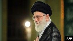 Иранскиот врховен лидер Ајатола Али Хаменеи.